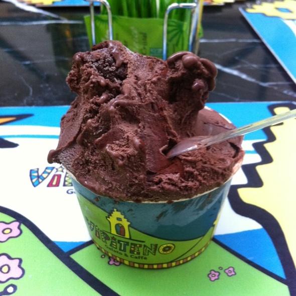 Sorvete De Chocolate Trufado @ Vipiteno Gelato & Caffè
