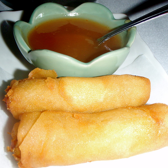 Crispy Egg Rolls  @ Blue Elephant Royal Thai Csn