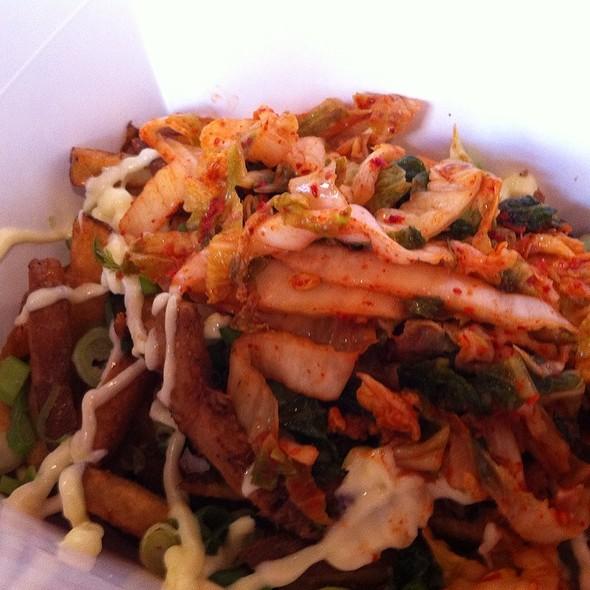 Kimchi Fries @ Banh Mi Boys Sandwich Shop