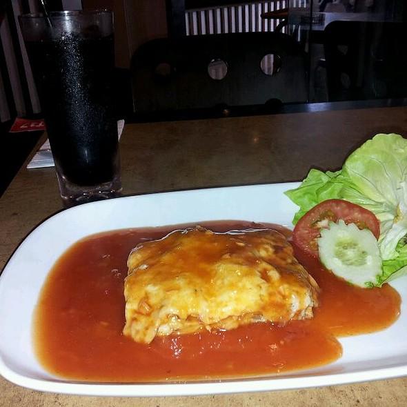 lasagna @ De Palma Cafe SACC