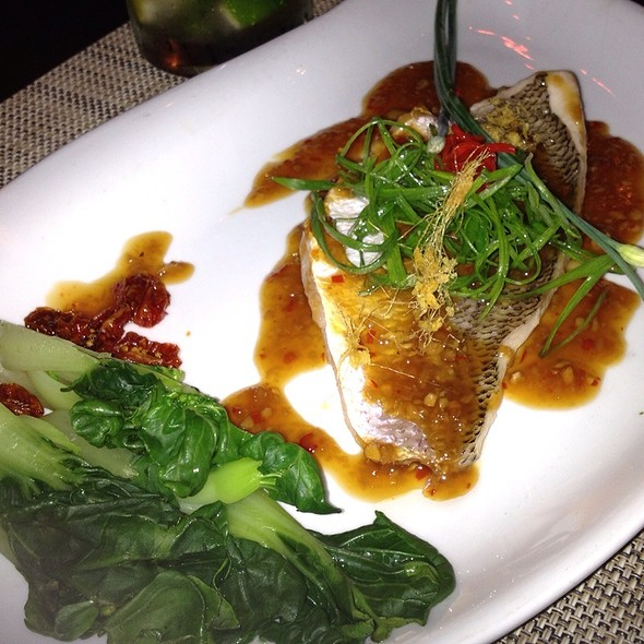 Steamed Red Snapper - Pranna, New York, NY