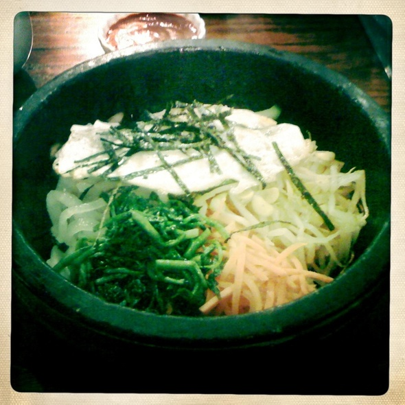 Vegetable Dolsot Bibim Bop @ Rega's Grill