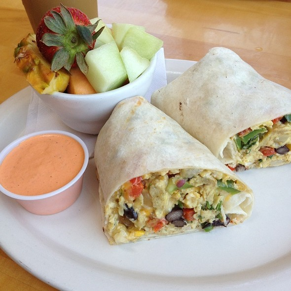 Breakfast Burrito @ Crows Nest
