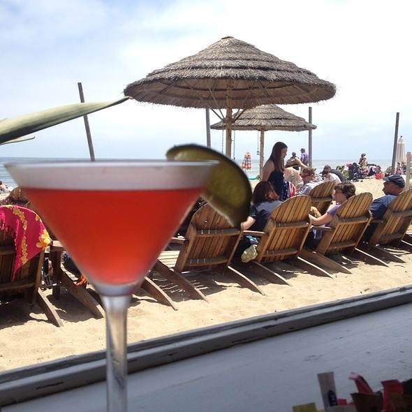 Cosmopolitan - Paradise Cove Beach Cafe, Malibu, CA