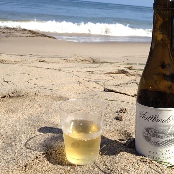 Chardonnay - Paradise Cove Beach Cafe, Malibu, CA