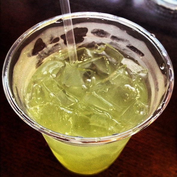 Cucumber Lemonade @ Ms. Dahlia's Cafe