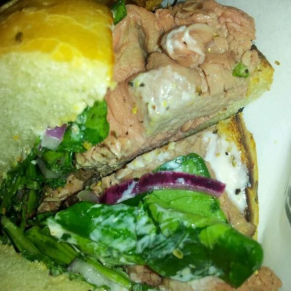 Roast Beef Arugula Onion Horseradish @ Cochon Butcher