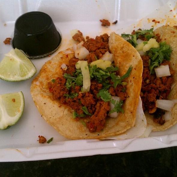 Tacos al Pastor @ R&R Taqueria