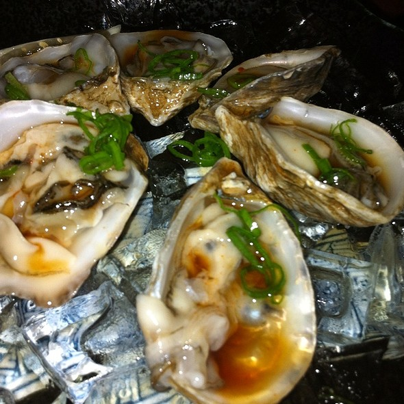 Half Dozen Raw Oysters