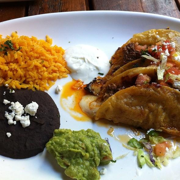 Ancho Braised Shortrib-Brisket Crispy Tacos - Playa Cabana, Toronto, ON