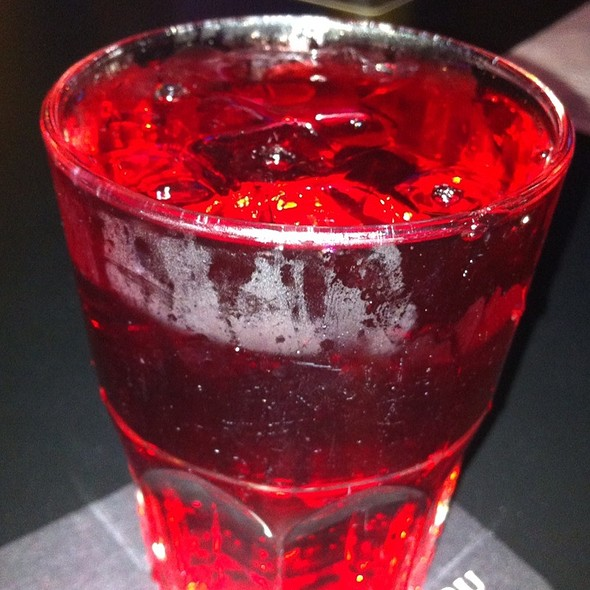 Cranberry With Double Shot Of Vodka