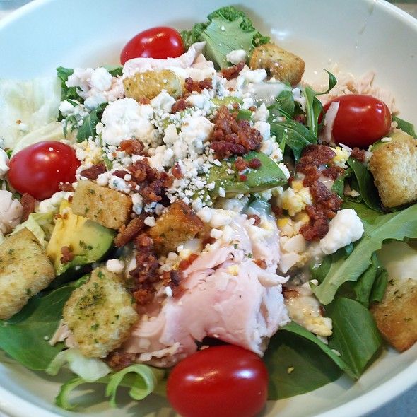 SMOKED TURKEY COBB SALAD @ Cafe Express