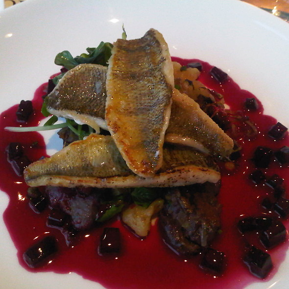 Pan Fried Lake Perch - Massimo's Italian Fallsview Restaurant, Niagara Falls, ON
