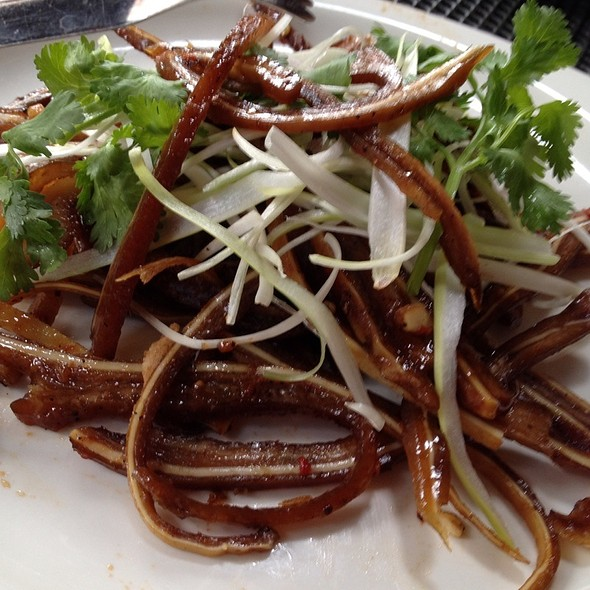 Tangy Spicy Shredded Pig Ears @ Pig Heaven
