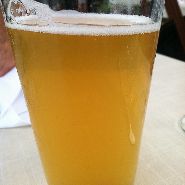 Flying Fish Farmhouse Ale  @ The Landing Restaurant