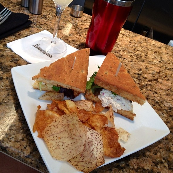 Tuna On Foccacia - Mariposa at Neiman Marcus - Beverly Hills, Beverly Hills, CA