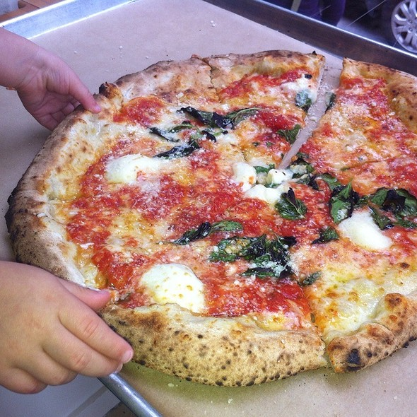 Margherita Pizza @ Antico-Pizza Napoletana