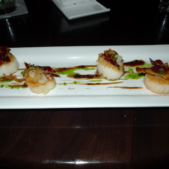 Bacon scallops @ 5A5 Steak Lounge