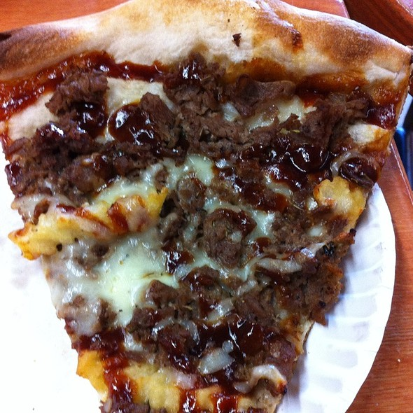 BBQ Steak And Fries Pizza
