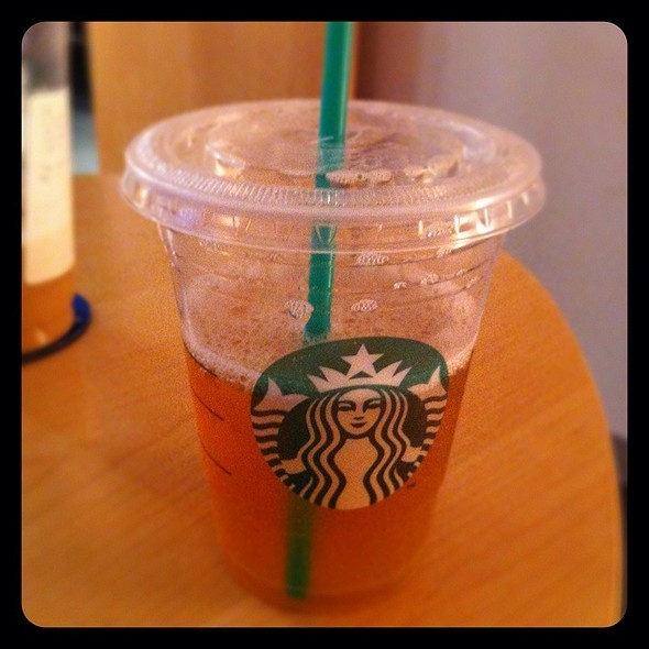 Tazo Shaken Iced Green Tea @ Starbucks