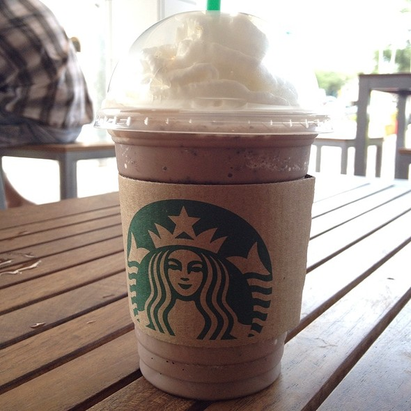 Double Chocolatey Chip Frappucino @ Starbucks