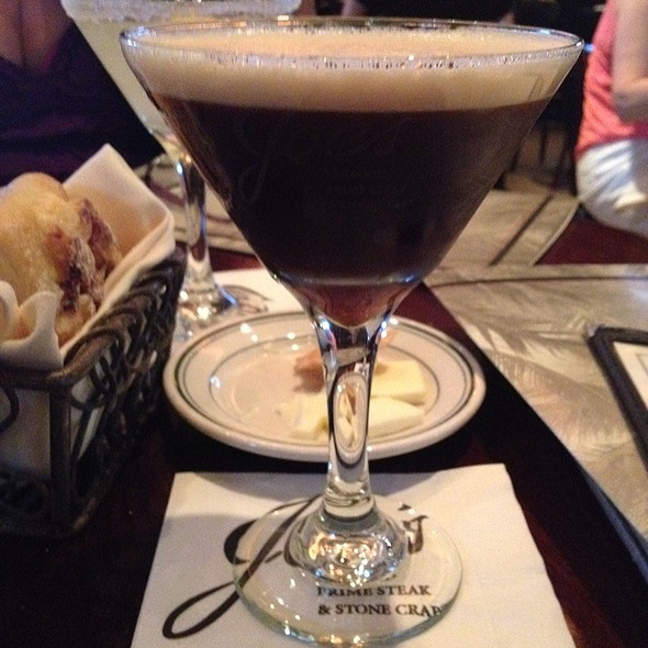 Espresso Martini @ Joe's Seafood, Prime Steak & Stone Crab - Las Vega