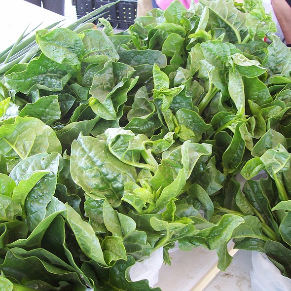 Spinach @ Fort Smith Farmers' Market