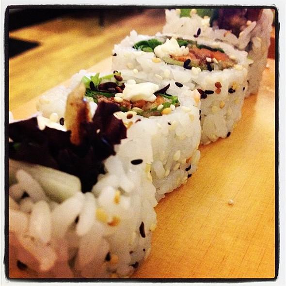 veggie roll #sushi  porn #mentegordito #sushilover