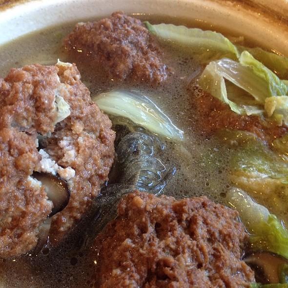 Lionhead Soup @ Joy Restaurant