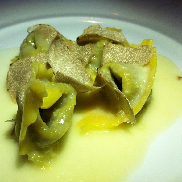 Artichoke Ravioli @ Wolfgang Puck at Hotel Bel-Air