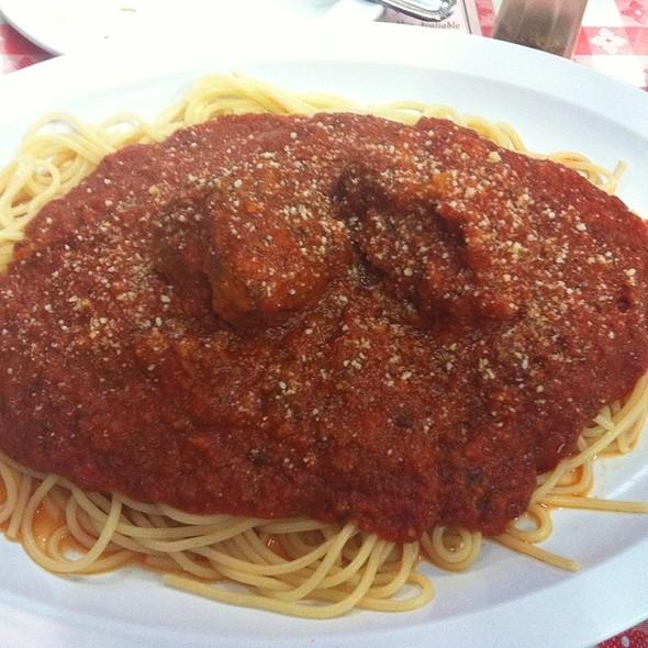Spaghetti and Meatballs @ Pizza D'oro