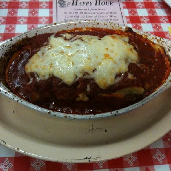 Meat Lasagna @ Pizza D'oro