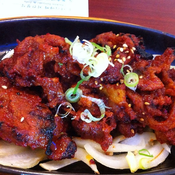 Spicy Pork Bulgogi @ Jeun Tong Tofu House