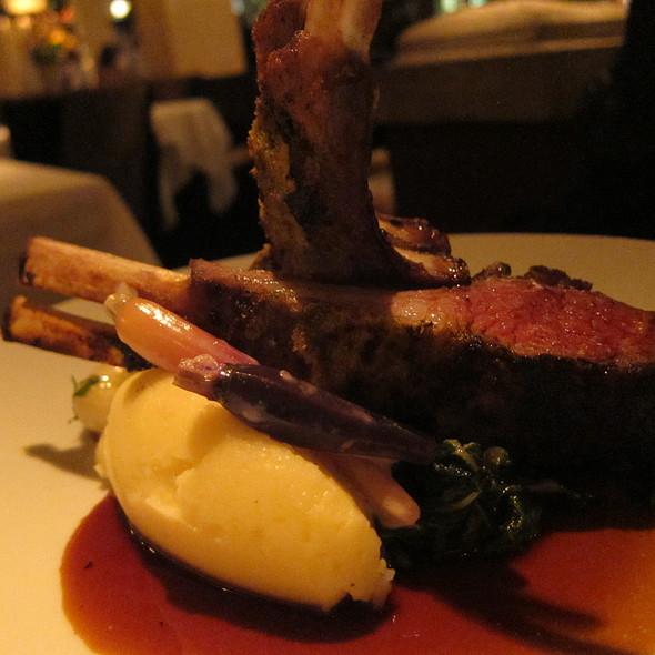 Grilled Rack Of Lamb @ Gotham Bar & Grill