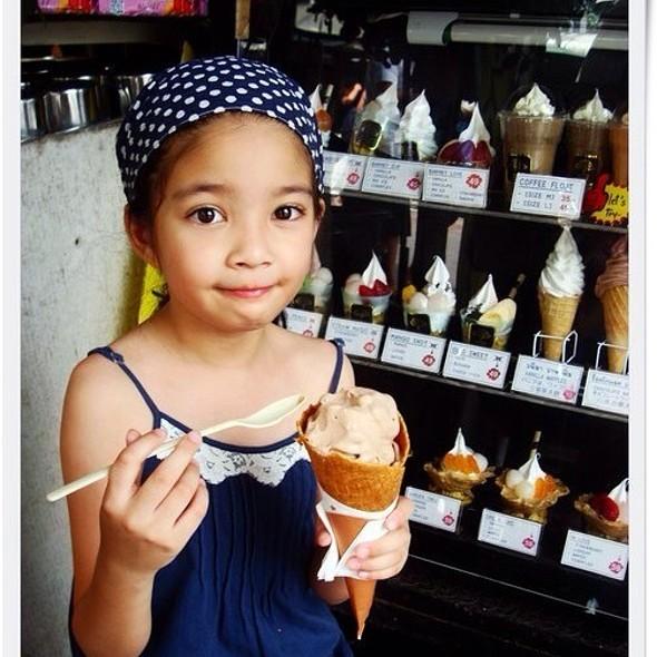 Soft Serve ice cream @ Jatujak Weekend Market