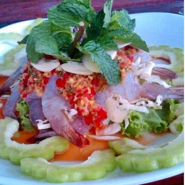 Spicy Raw Shrimp Salad @ Pair Ing Nam