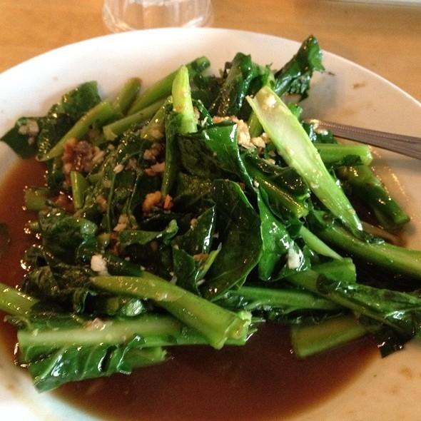 Chinese Broccoli At Thai Patio Hollywood