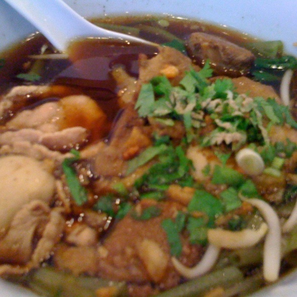 Braised Pork Thai Noodles