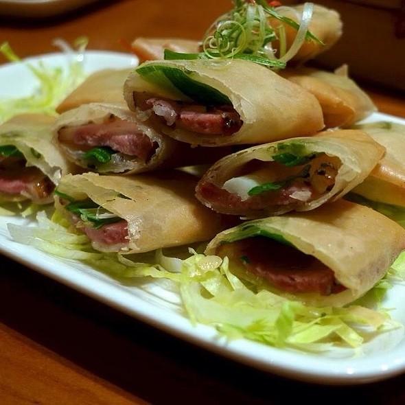 Smoked Roast Duck Wrap @ Din Tai Fung