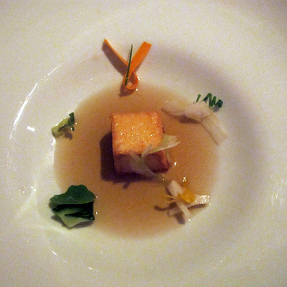 Scallop @ Alinea Restaurant