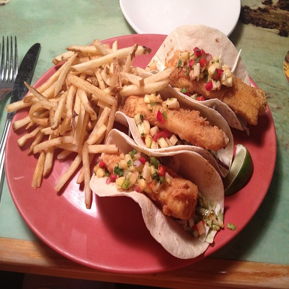 Fish Taco @ Cheeseburger In Paradise