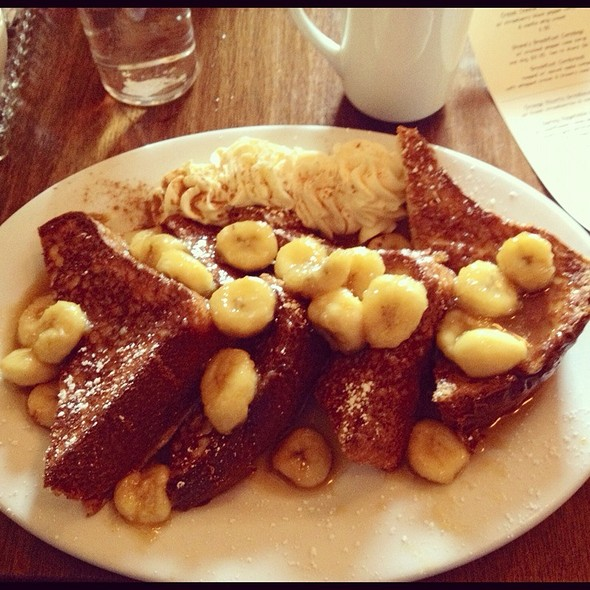Bananas Foster French Toast @ Screendoor Restaurant