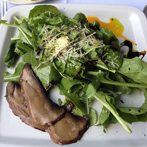 Arugula Salad, Roasted Portobella, Shaved Parm - Trax Restaurant & Cafe, Ambler, PA
