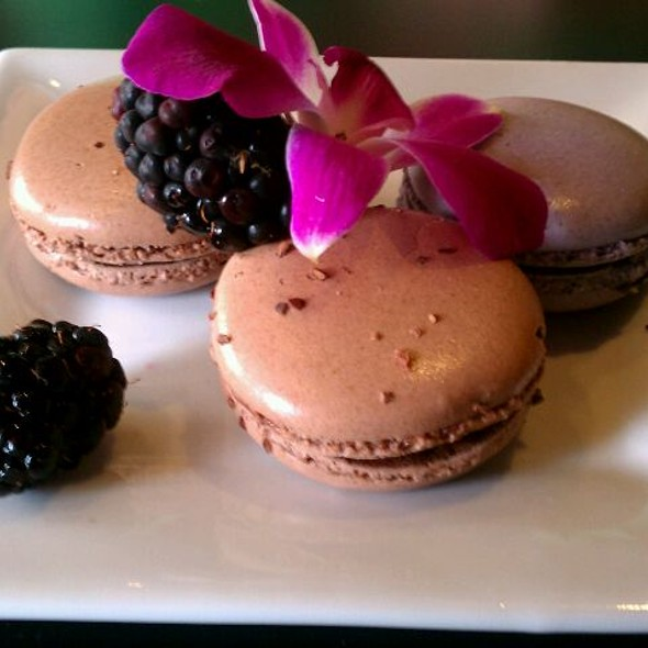 Trio Of Macarons - Eden Burger Bar, Glendale, CA