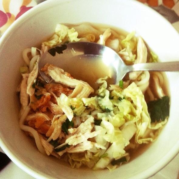 Chicken Noodle Soup @ Stichting Pari