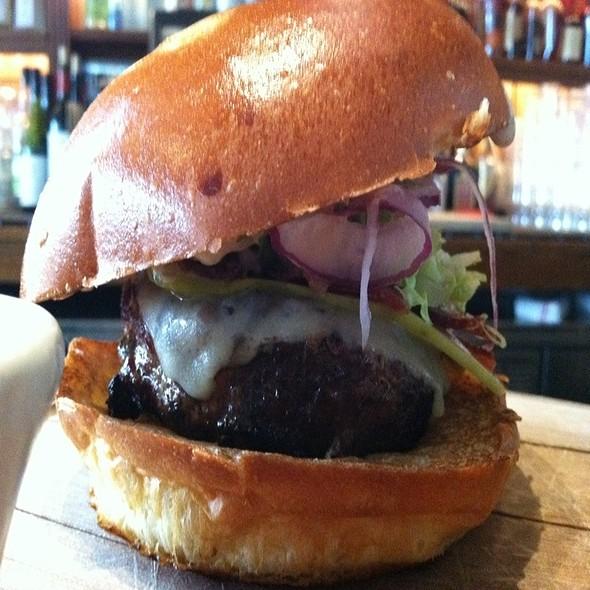House Blend Aged Beef Burger @ The Dandelion