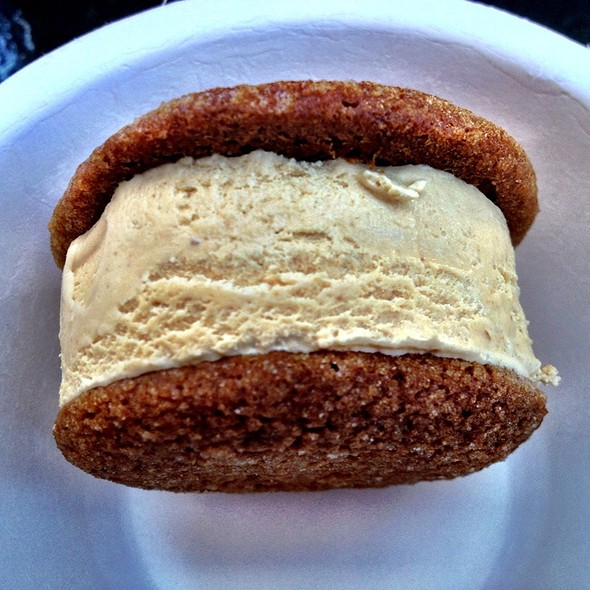 Foie Gras Ice-cream Sandwich @ Humphry Slocombe