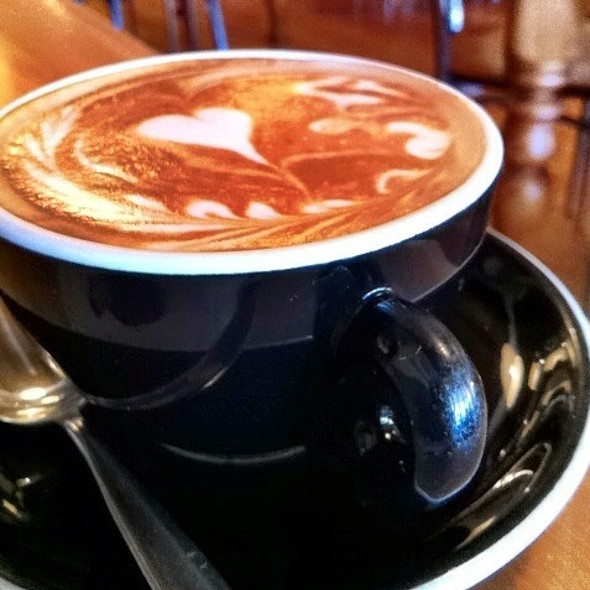Flat White @ Relishes Cafe