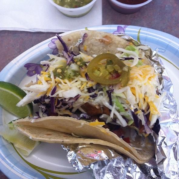 Baja Fish Taco @ Las Barcas