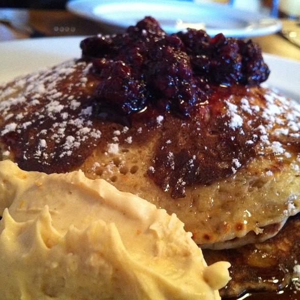 Lemon Pancakes @ Relishes Cafe